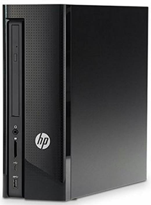 HP Slimline 270-p027il desktop PC (Core i3 7100 CPU / 4GB RAM / 1 TB HDD / DVD Writer / DOS / Wired Keyboard & Mouse)