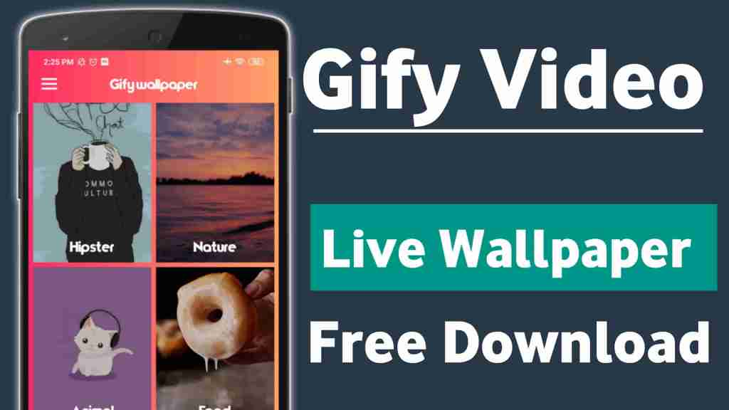 Gify - Video Live Wallpaper HD