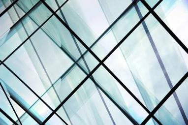 Structured glass