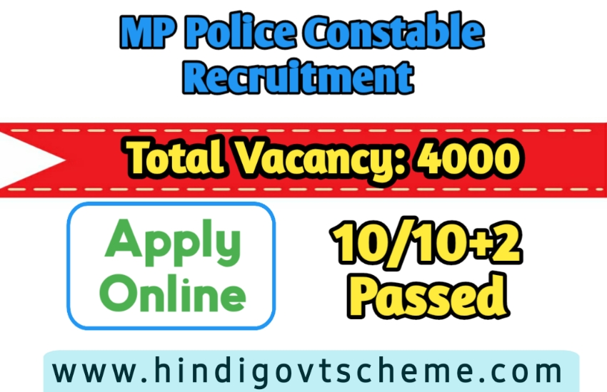MPPEB Police Constable Recruitment 2021