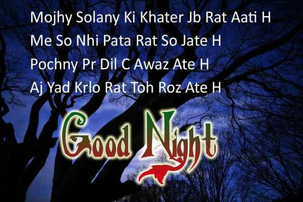 Good Night SMS to a Girlfriend