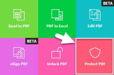 protect PDF