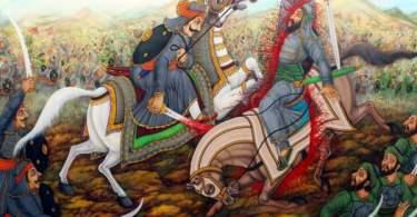 Short Poems on Maharana Pratap in Hindi