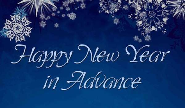 Advance new year photo