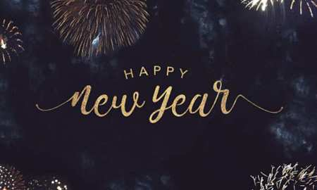 Happy new year in advance image