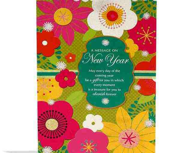 New Year Greeting cards 2019