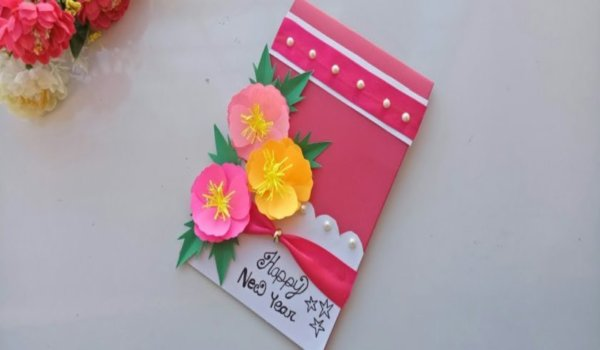 New year card making