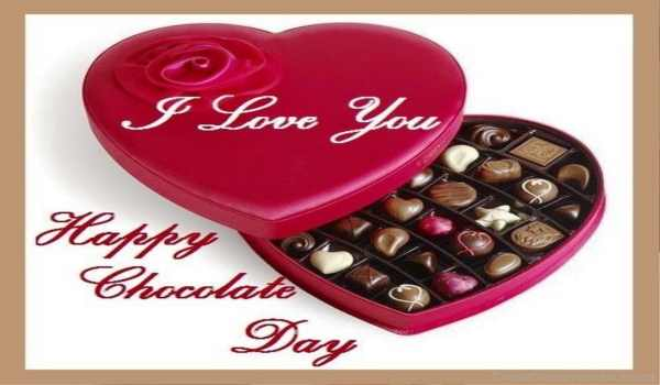 Happy chocolate day wallpaper