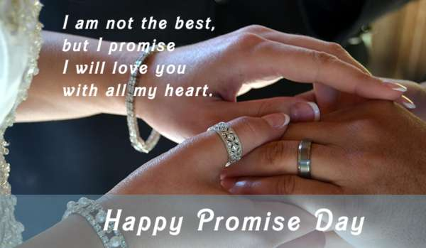 Promise Day photo frame