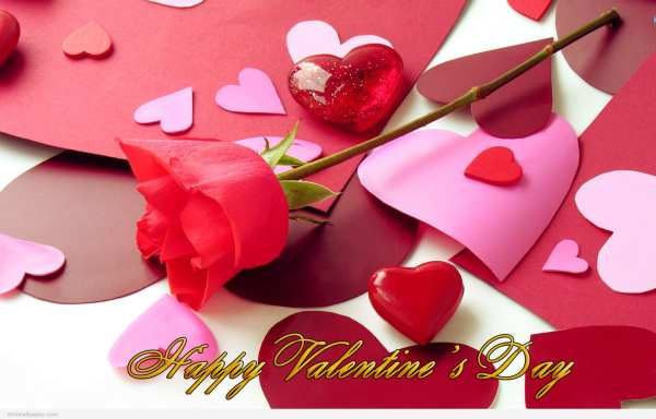 valentine day status in hindi