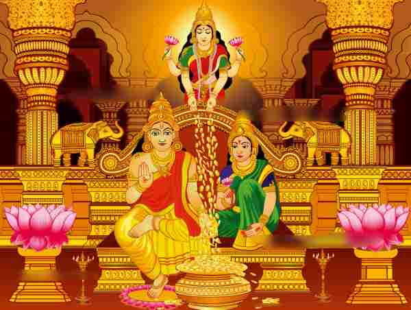 Dhanteras Pictures for Drawing