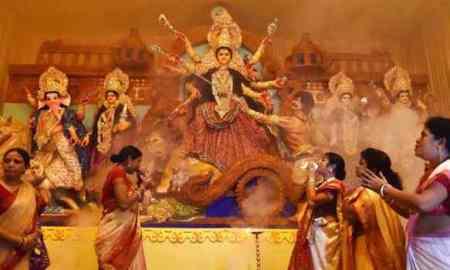 Durga Puja wishes for whatsapp