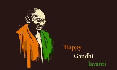 Gandhi jayanti hindi message