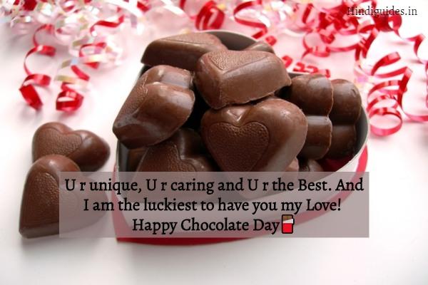 चॉकलेट डे शायरी 2