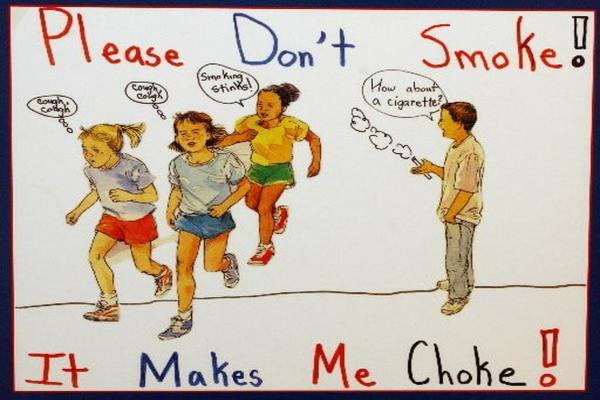 धूम्रपान निषेध दिवस पोस्टर 3