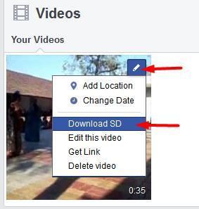 download facebook videos east option