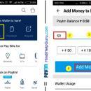 Paytm Wallet add money