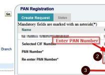 sbi bank account me pan card add kare
