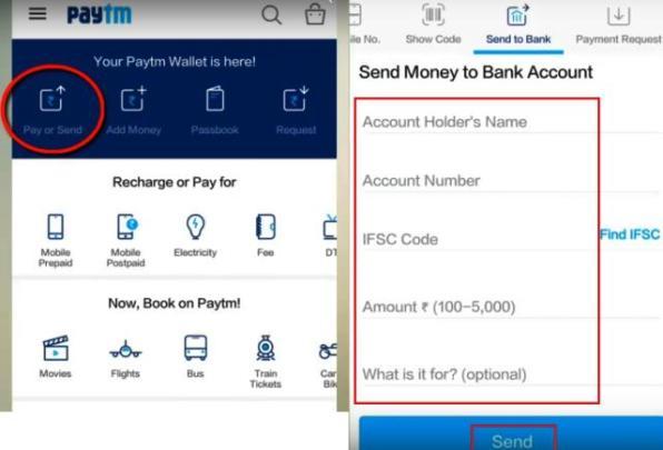 Paytm se Bank Account me Money Transfer kaise kare