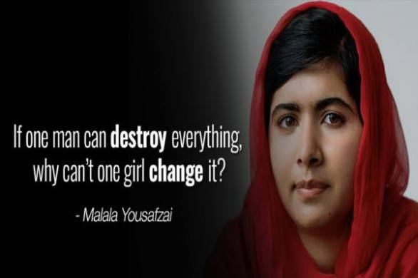 Malala Yousafzai Quotes Education