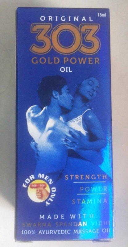 303 gold power oil