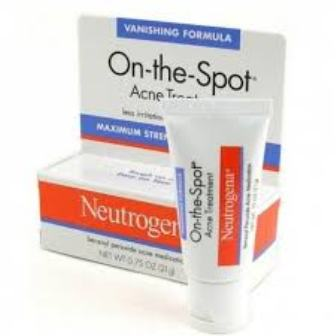 benzoyl peroxide cream for pimples