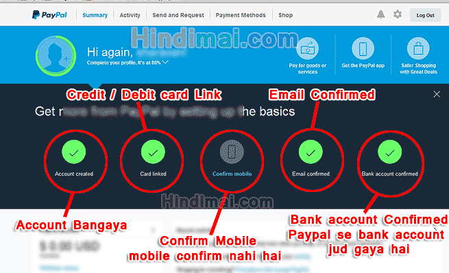 Paypal Par Verified Account kaise banaye, PayPAl Account Overview, paypal registration, PayPal Account Kaise Banaye, Create PayPal Account in India paypal account kaise banaye PayPal Account Kaise Banaye Paypal Account Kaise banaye  008