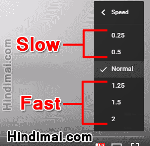 How To Watch YouTube Video in Fast and Slow Motion in Hindi , Play YouTube Video in Slow and Fast Motion in Hindi , YouTube Video Speed Settings in Hindi how to watch youtube video in fast and slow motion in hindi How To Watch YouTube Video in Fast and Slow Motion in Hindi How To Watch YouTube Video in Fast and Slow Motion in Hindi 004