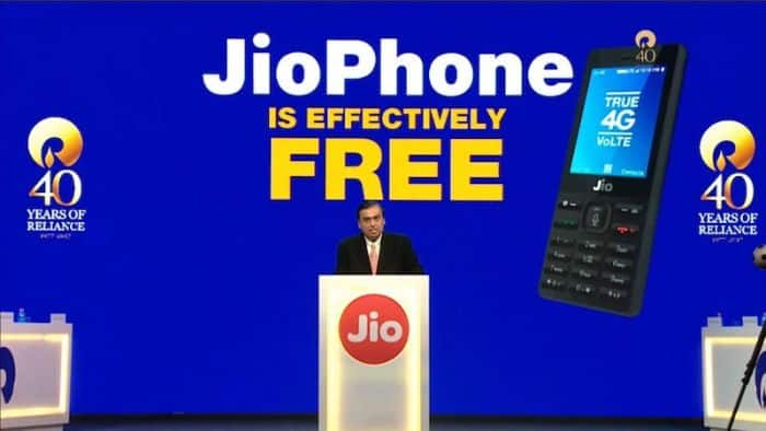 Reliance Jio Free 4G Feature Phone