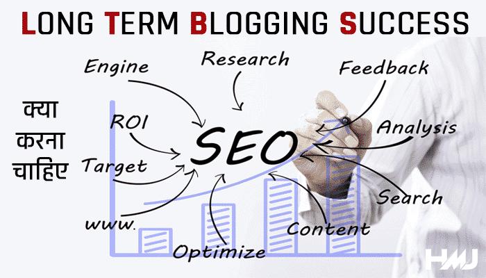Long Term Blogging Success