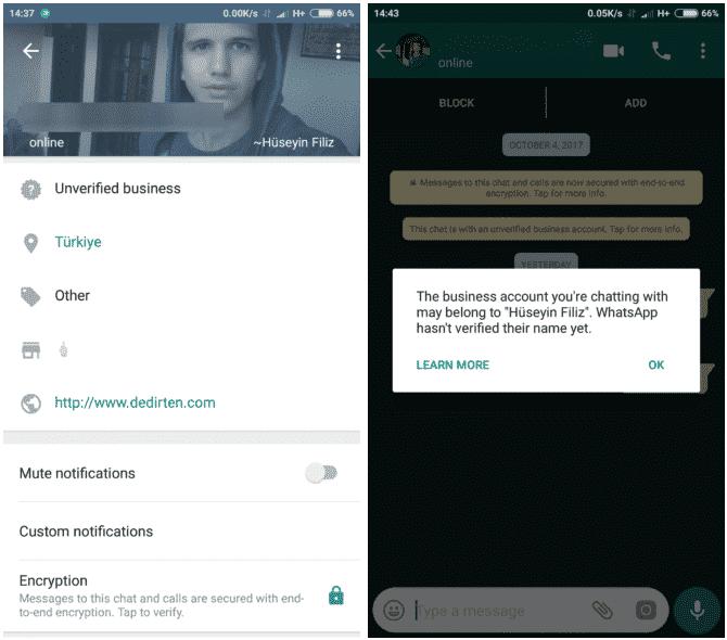 WhatsApp vs WhatsApp Business
