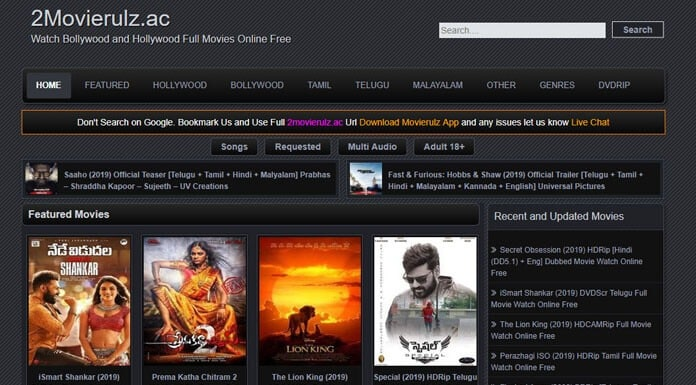 Download Latest Bollywood, Hollywood Movies in HD Quality