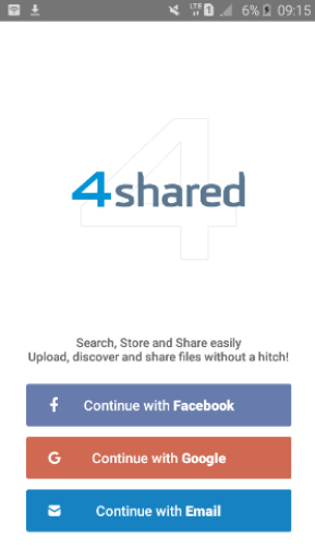 sign up 4 shared