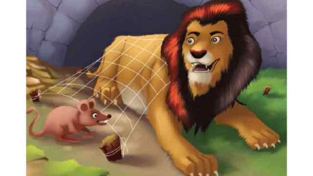 शेर और चूहा Moral Story in Hindi