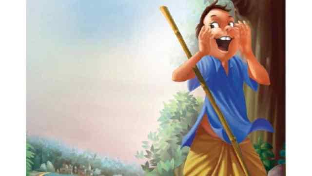 भेड़िया-भेड़िया चिल्लाने वाला बालक Moral Story in Hindi