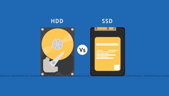 HDD aur SSD