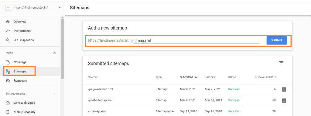 Sitemap Ko Google Search Console Me Kaise Submit Kare?