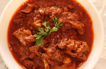 राजस्थानी लाल मास मटन करी rajasthani laal maas mutton kadai