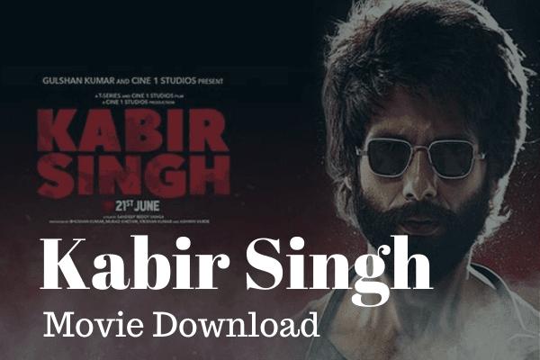 Bollywood Movie Download Kabir Singh