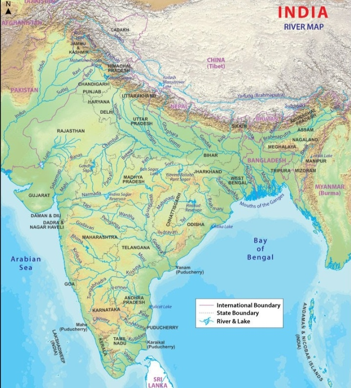 About Indian river and indian map