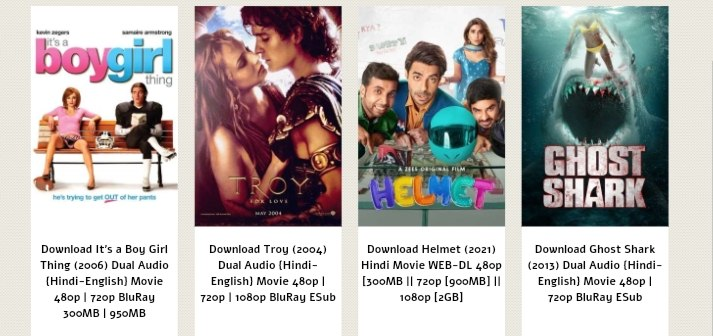 Which types of movies download from  GOMovies