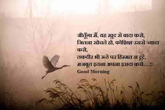 Morning Shayari || Good Morning Shayari in Hindi