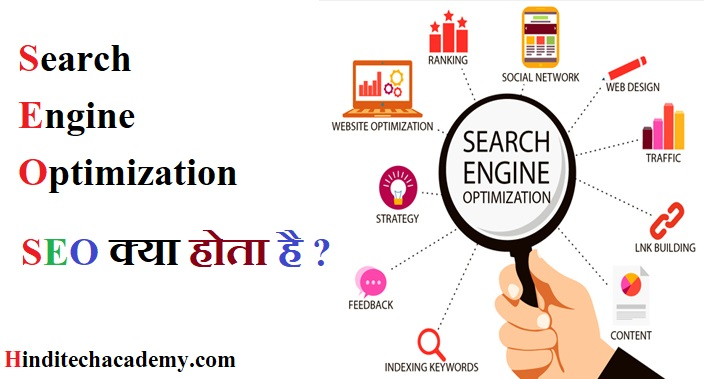 What is Search Engine Optimization in Hindi -SEO क्या हैं
