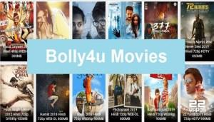 Bolly4u 2020: Bollywood Hollywood Movies Download 720p 1080p 480p