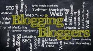 Blog blogging blogger means in Hindi