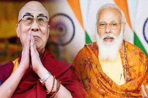मोदी की कूटनीति  दलाई लामा को बधाई, चीन को संदेश!