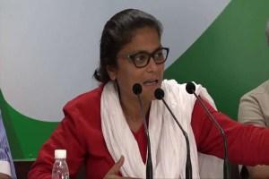 Read more about the article सुष्मिता देव ने दिया पार्टी से इस्तीफा, कपिल सिब्बल ने सोनिया पर लगाया आरोप