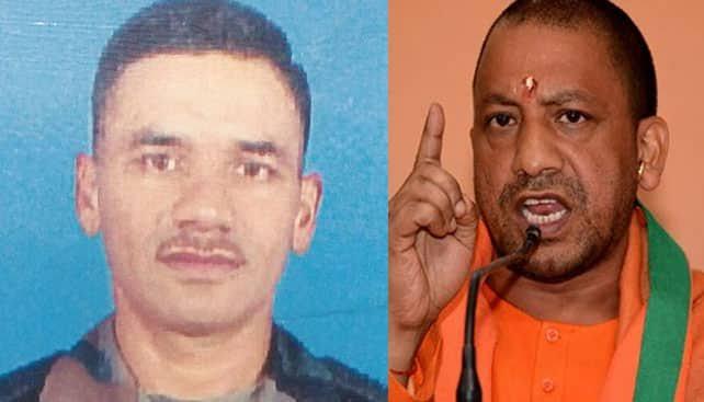 सीमाओं की रक्षा में तैनात हैं योगी आदित्यनाथ के भाई सूबेदार शैलेन्द्र मोहन