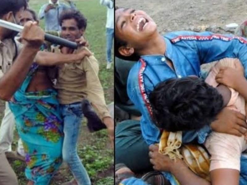 मध्यप्रदेश पुलिस ने किया मानवता को शर्मसार किसानों के साथ मारपीट, कलेक्टर और एसपी नपे
