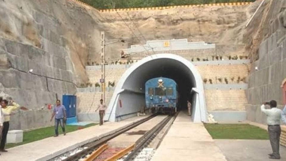 विश्व का पहला इलेक्ट्रिफाइड रेल टनल हरियाणा में हुआ तैयार, जाने क्या है खासियत